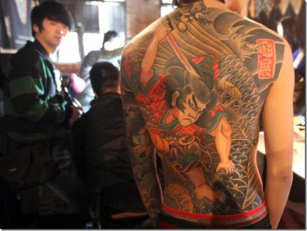 Festival Internacional de Tatuagem em Pequim (2)