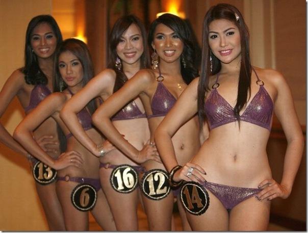 Concurso miss ladyboy nas Filipinas (2)
