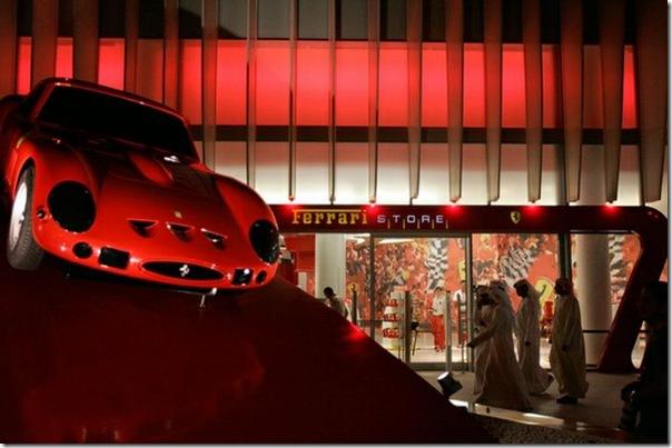 Ferrari World Abu Dhabi nos Emirados Árabes (1)