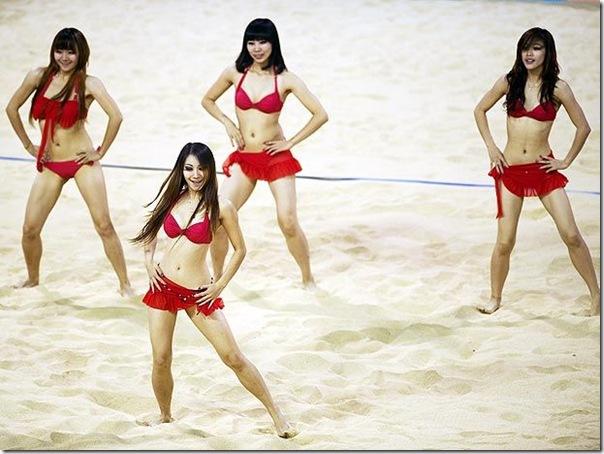Cheerleaders dos jogos asiaticos (1)