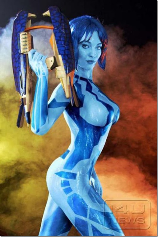 Belissimas garotas vestidas como personagens de video game (18)