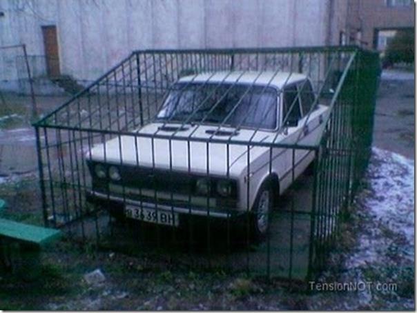 Sistema de segurança dos automóveis