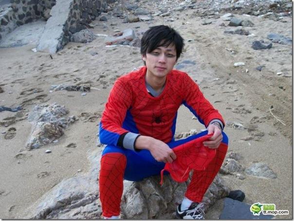 Homem aranha chinês