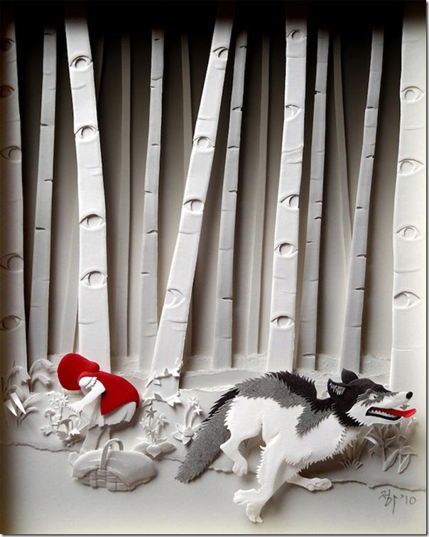 Arte com camadas de papel (3)