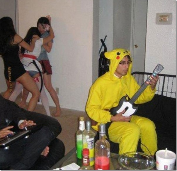 Pikachu não quer festa