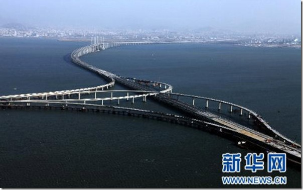 maior ponte do mundo na china
