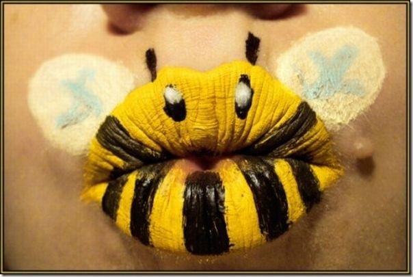 Arte nos lábios (4)