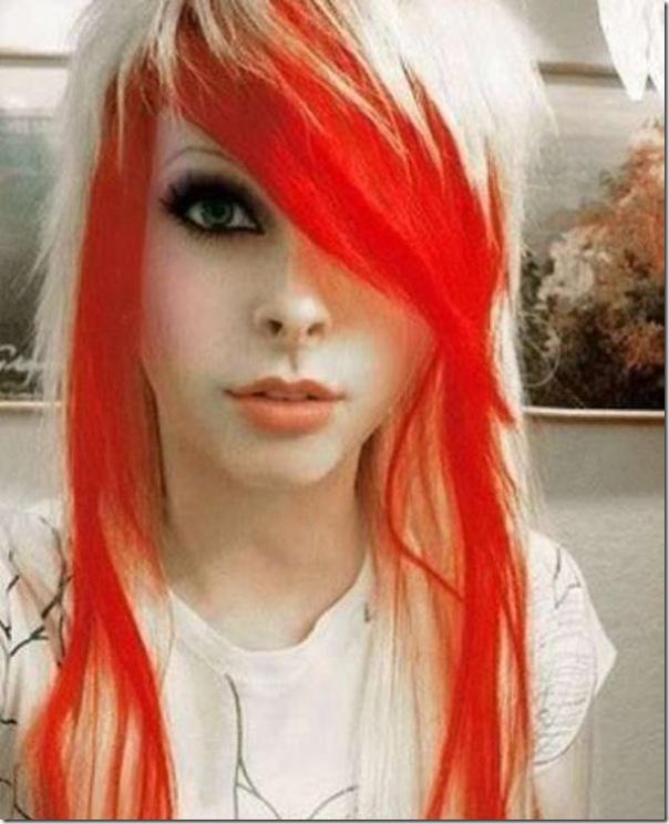 Garotas com cabelos coloridos (3)