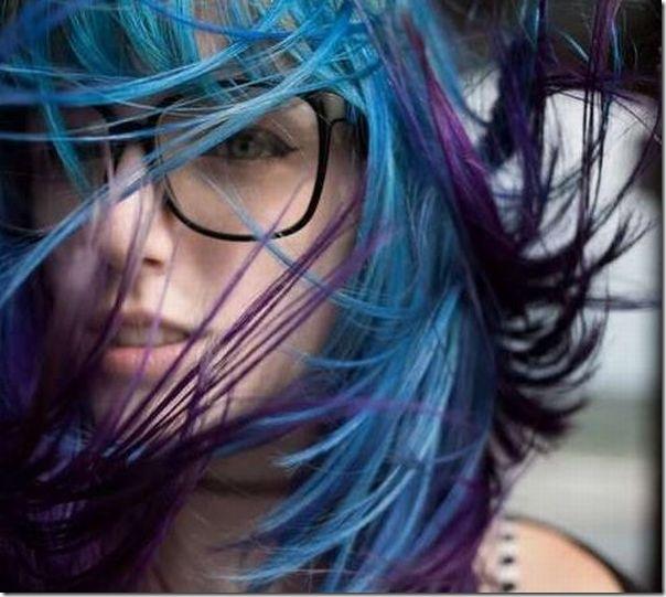 Garotas com cabelos coloridos (15)