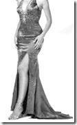 vestido longo - anos 20