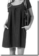 vestido solto - anos 20