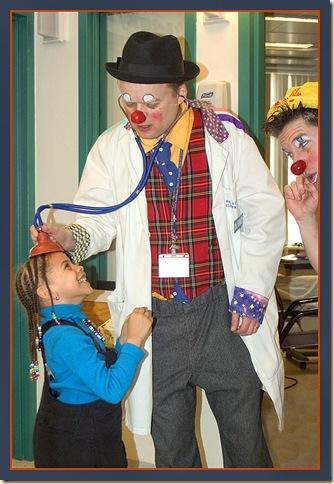 hospital clown