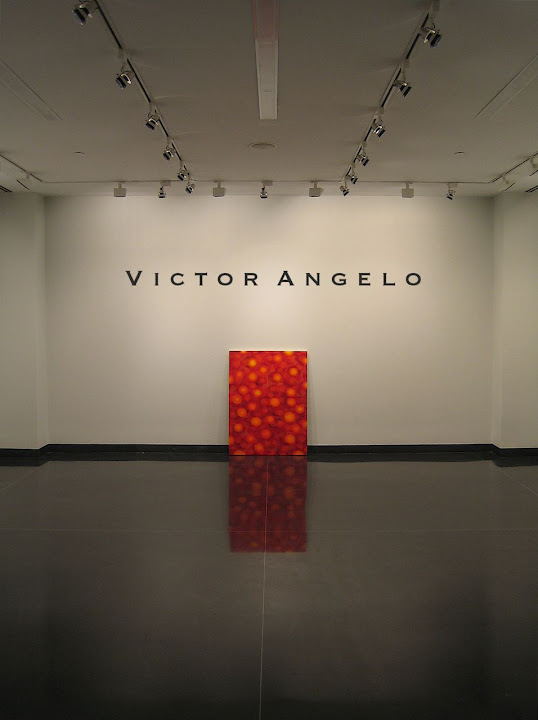 Victor Angelo reflection painting invitational exhibition in Manhattan NYC