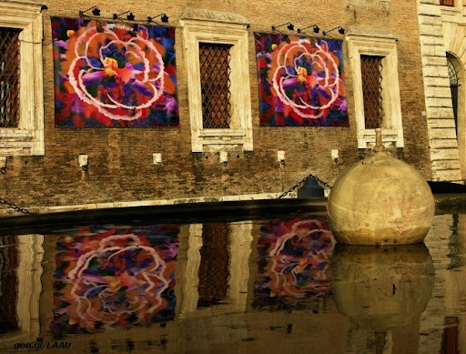Victor Angelo one paintings edition reflecting in Venice canal