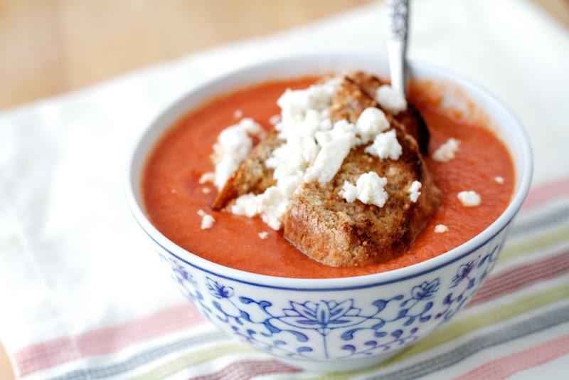 Chipotle Tomato Soup | Naturally Ella