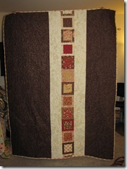 Back of RK's Comfort Quilt