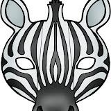 Máscara  Cebra