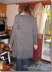 Back View of Muslin #3