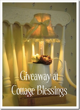 Giveaway country cottage