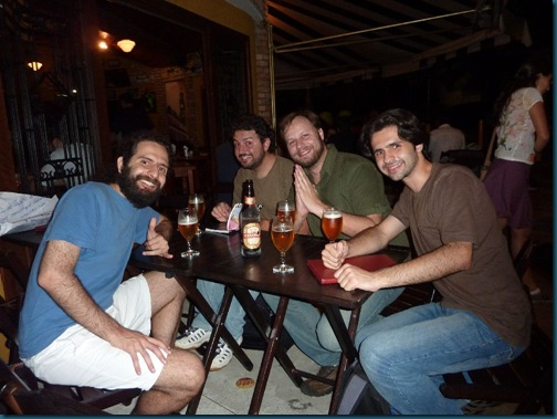 Wikimedia crew - Ale, Tom and Glauco