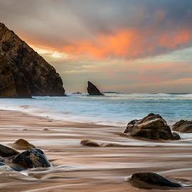 Tracked by Francisco Machado - Landscapes Sunsets & Sunrises ( praia da adraga, fotonature, sintra, workshop fotografia de natureza )