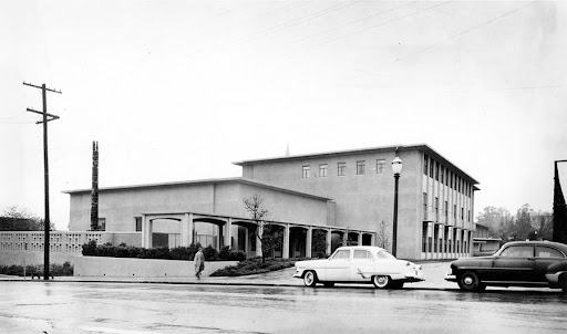 Kroeber Hall, 1959