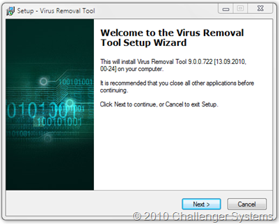 Virus Removal Tools 2010