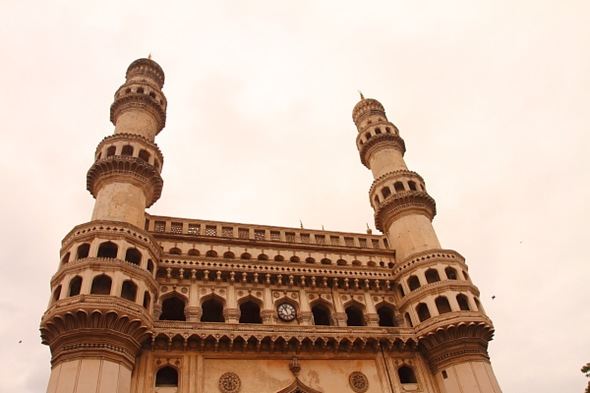 Charminar - one of the famous landmarks of Hyderabad
