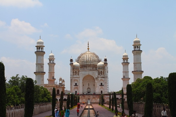 Bibi-Ka-Maqbara - The Taj Mahal Lookalike