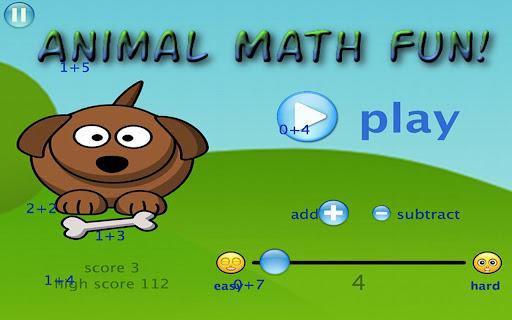 Animal Math Fun