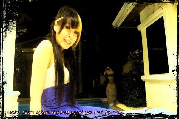 รูปภาพ ซานิ AF6 สาวมาดเท่ห์ ในลุคผมยาว