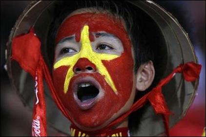 Việt Nam vào bán kết cup AFF 2008