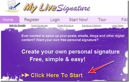 come creare firma online generatore