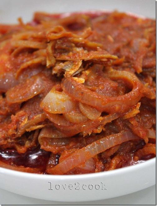 anchovies sambal