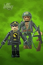 Mini-Mates Blackhawk and Sgt Rock
