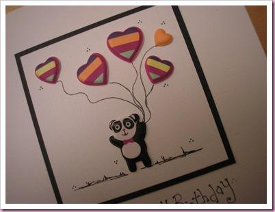 Panda card 1