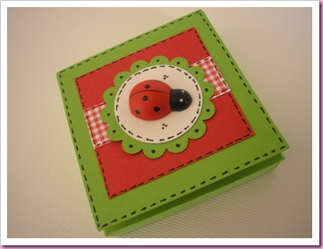 Easter Ladybird Treat Box