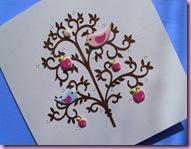 Birds in tree Card 1