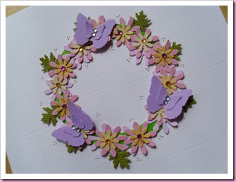 Butterfly Circle Card 2