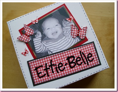Box for Mini Baby Book