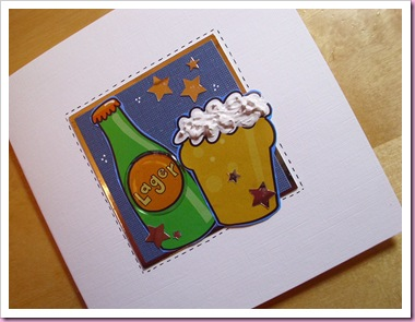 Lager Birthday Card