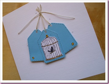 Stampin Up birdcage Stamp