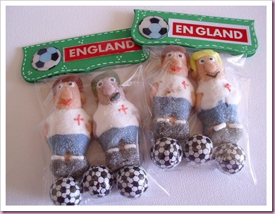 England World Cup Favor Bags