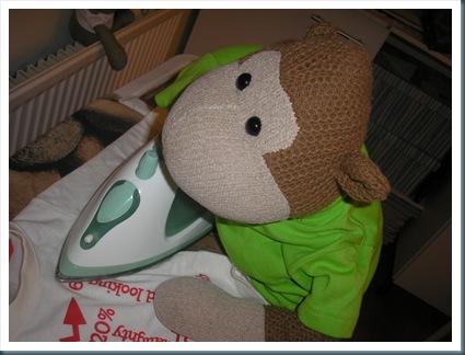 Monkey Ironing