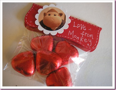 Monkeys Sweetie Bag