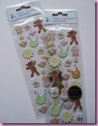 HobbyCrafts Sale Item - Baby Stickers