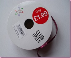 HobbyCraft Sale Item - Pull Bow Ribbon