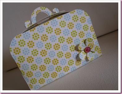 Flowery Sizzix Suitcase