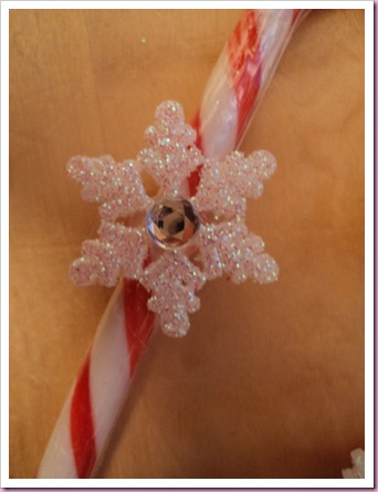 Candy Cane Heart Decoration 2
