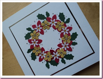 Christmas Wreath card 3